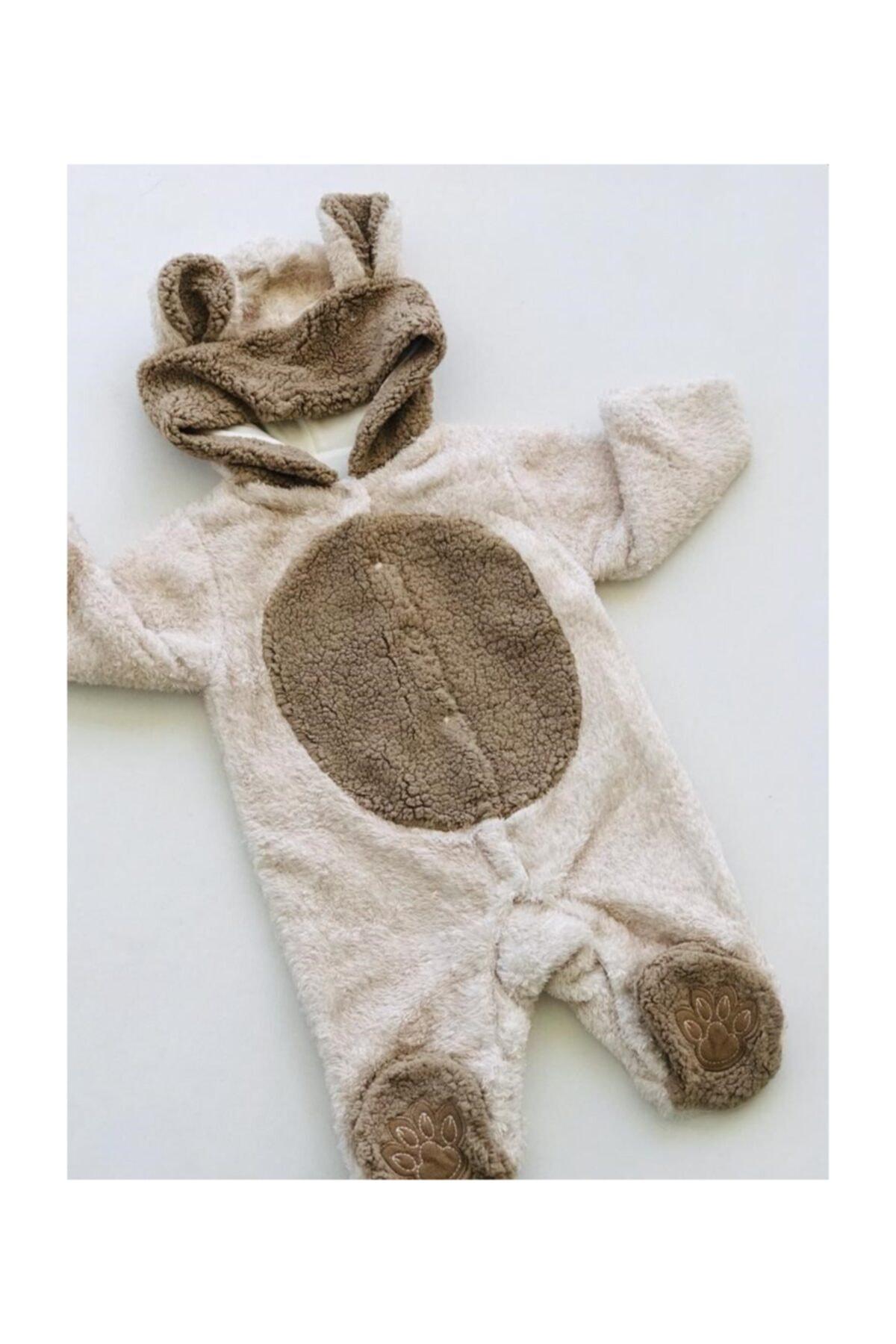 Eda Baby Sevimli Ayıcık Peluş Tulum 1
