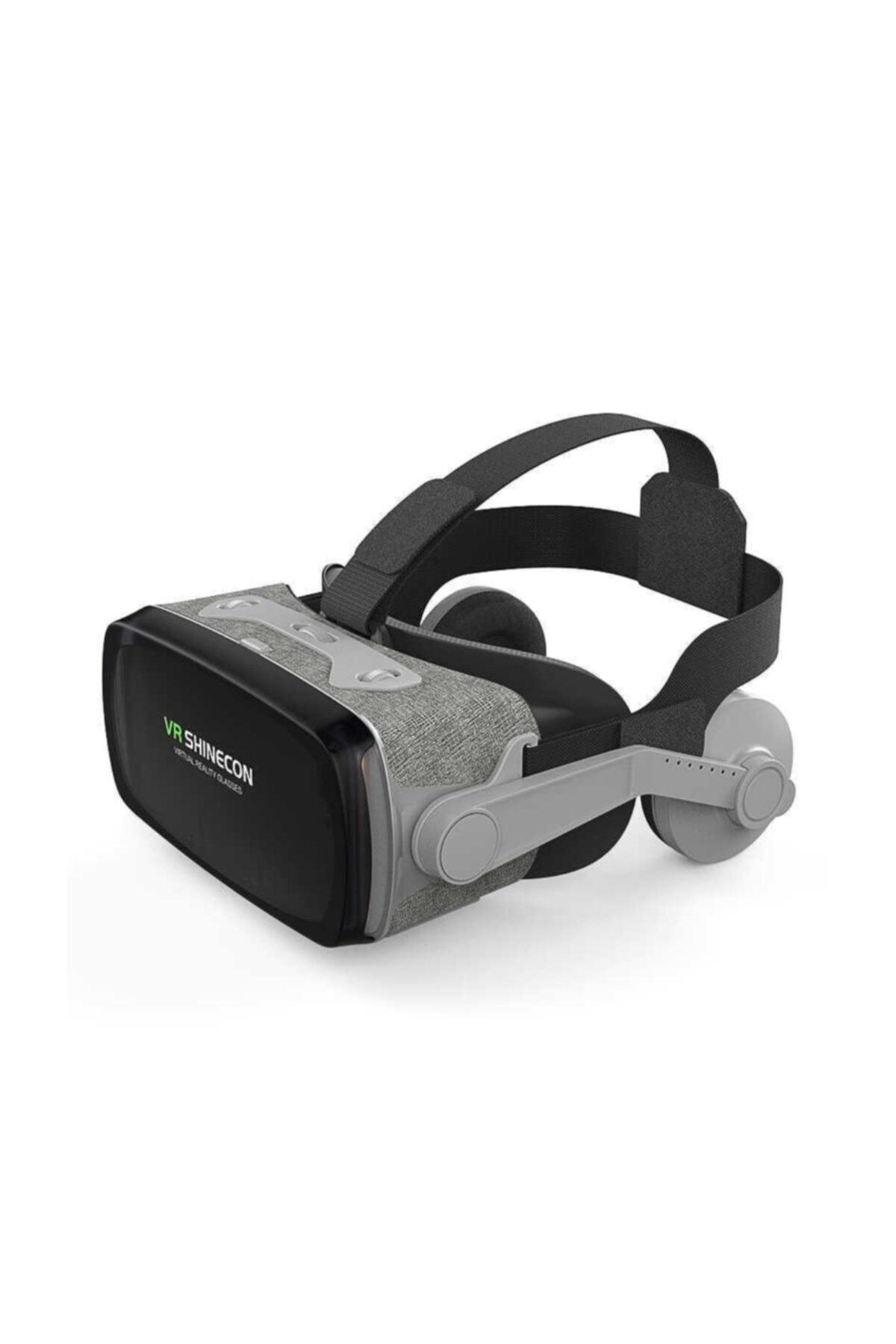 VR Shinecon 3d Sanal Gerçeklik Gözlüğü 720° Gri 1