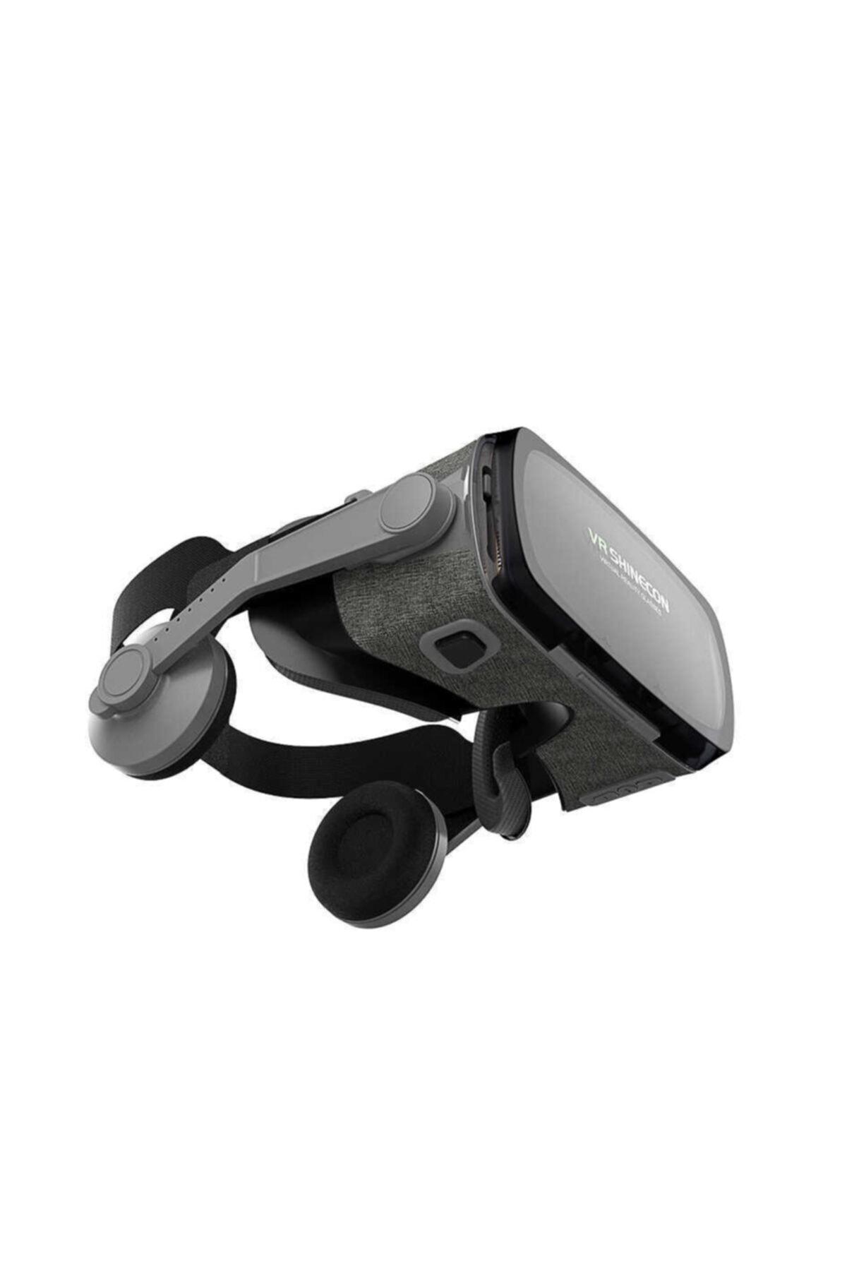VR Shinecon 3d Sanal Gerçeklik Gözlüğü 720° Gri 2