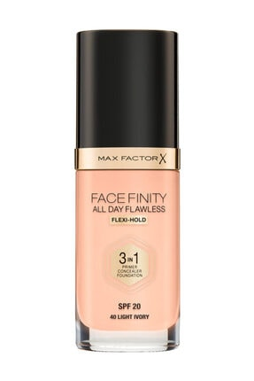 Max Factor Fondöten - FaceFinity All Day Flawless Foundation 40 Light ivory 3614225851575