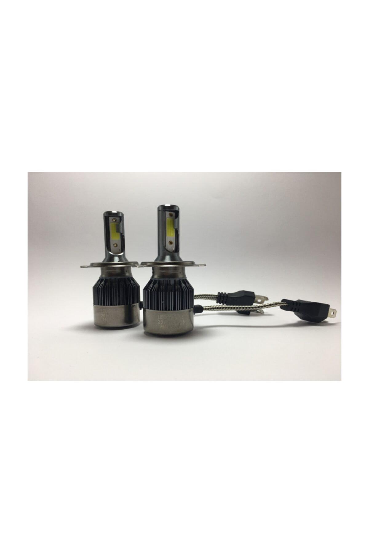 Led Garage Black Edition H4 Led Xenon 8400 Lümen 6500k Beyaz Şimşek Etkili 1