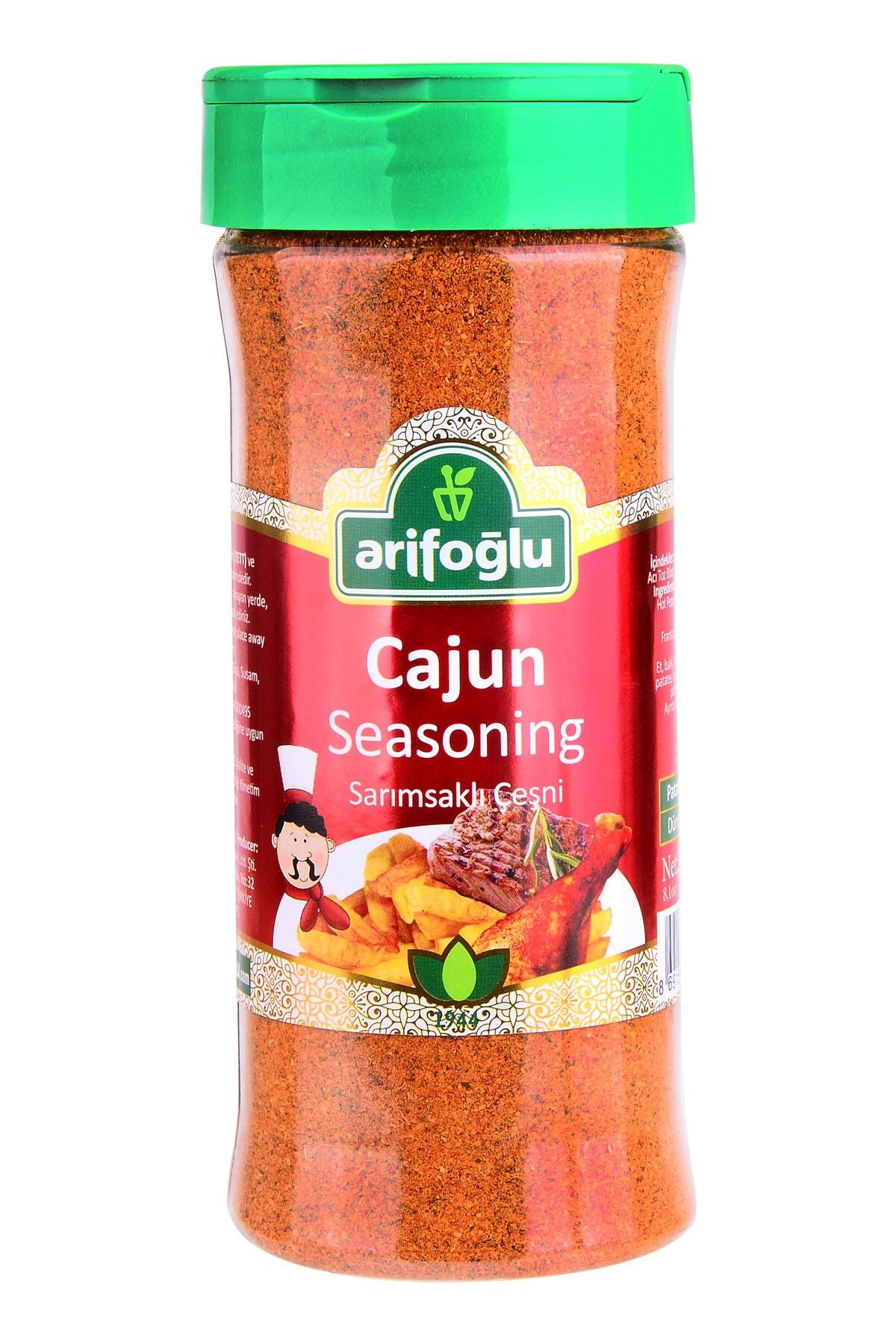 Arifoğlu Cajun Seasoning Sarımsaklı Çeşni 230 gr (Pet) 1