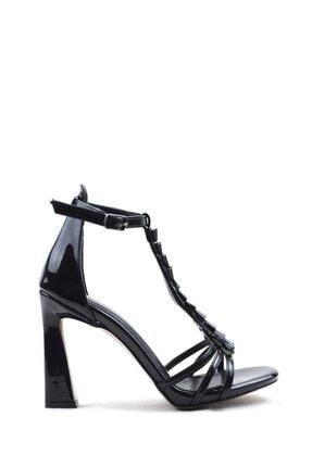 Buffalo Mırror Lady Black Topuklu Ayakkabı