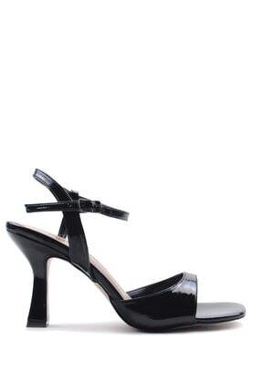 Buffalo Kadın Summer Fashıon Black Topuklu Ayakkabı