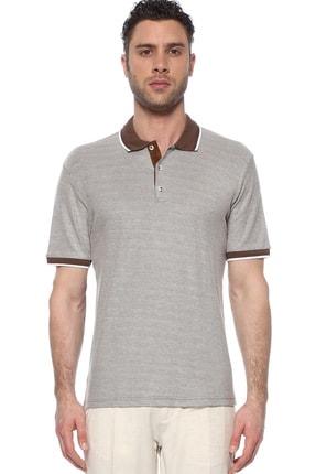 Network Erkek Polo Yaka Kahverengi Tshirt 1074722