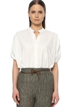 Network Kadın Regular Fit Beyaz Gömlek 1073352