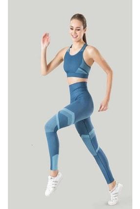 Misfit Kadın Sporcu Tayt Fitness Ve Günlük Kullanım Iç Göstermez