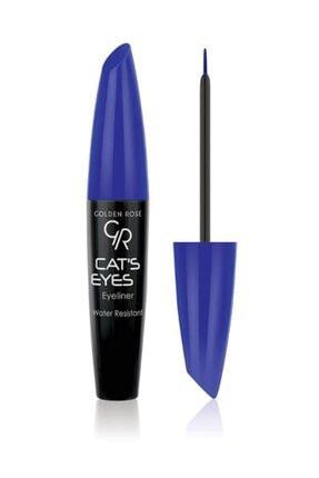 Golden Rose Mavi Eyeliner - Cat's Eyes Eyeliner Matte Blue 8691190070564