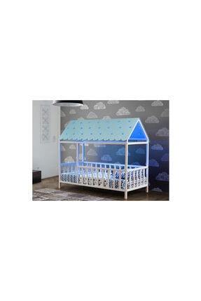 Yıldız Mobilya Montessori Yatak Mavi - 1150 Bmçl