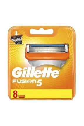 Gillette Fusion Yedek Tıraş Bıçağı - 8'li