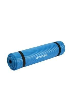 AVESSA 10 Mm Yoga Mat & Pilates Minderi - Mavi