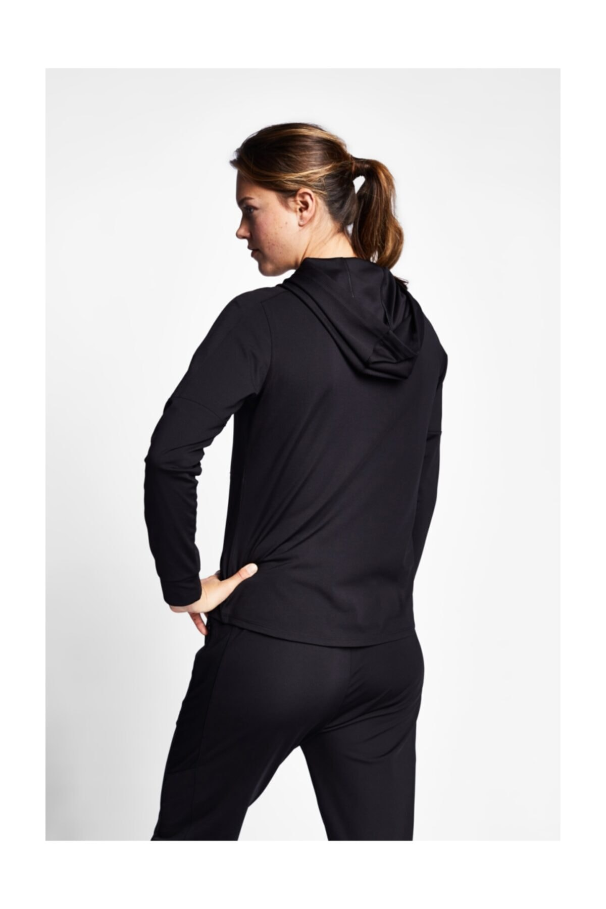 Lescon Kadın Sweatshirt - 19N-2001 Fermuarlı - 19ntbp002001-633 2