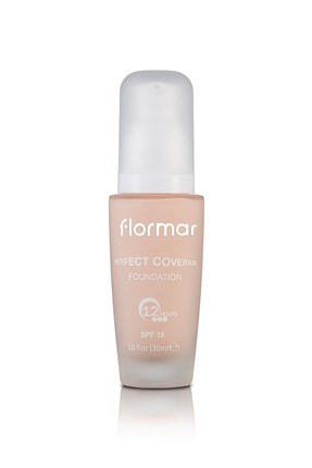 Flormar Fondöten - Perfect Coverage Foundation 107 Natural Ivory 8690604085958