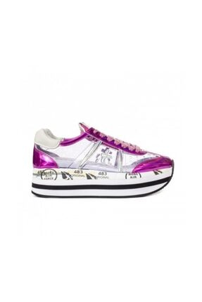 Premiata Kadın Spor Ayakkabı Pembe Beth 3036