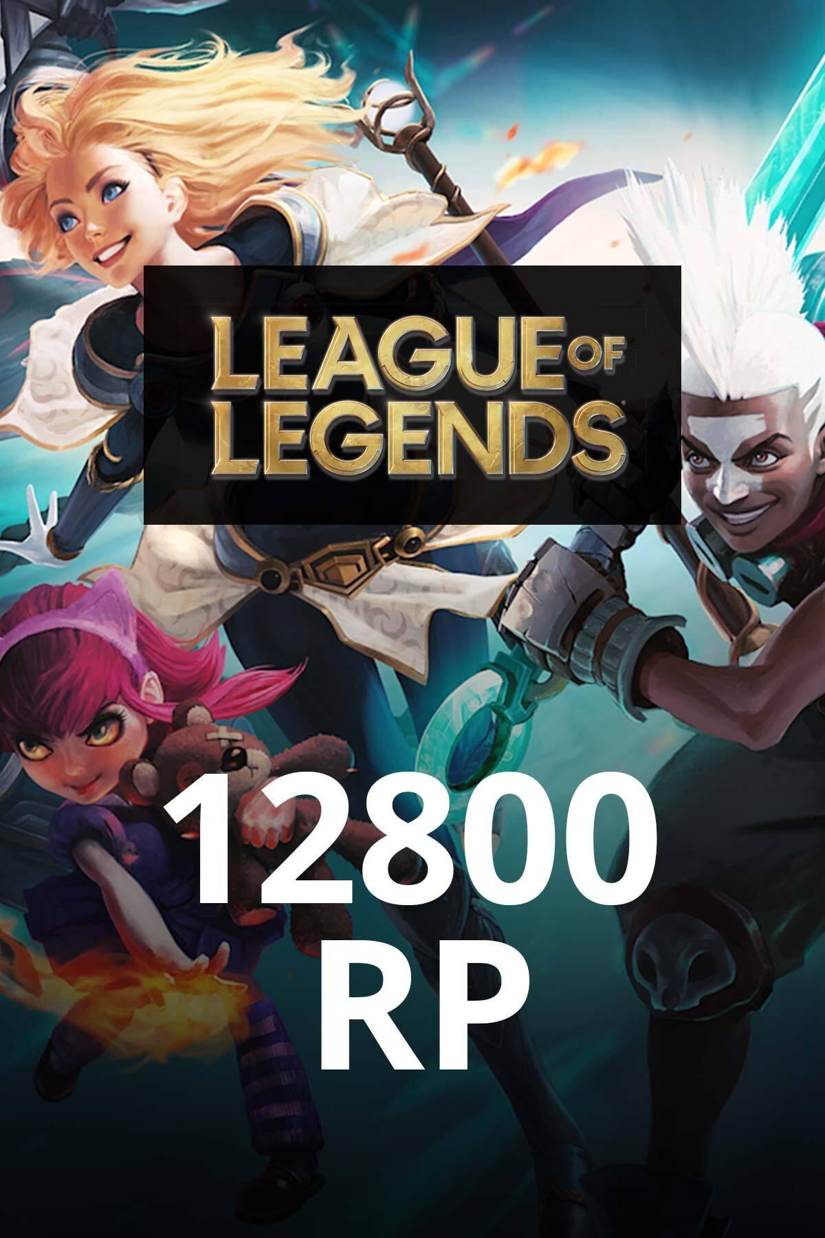 Riot Games League of Legends 12800 RP TR