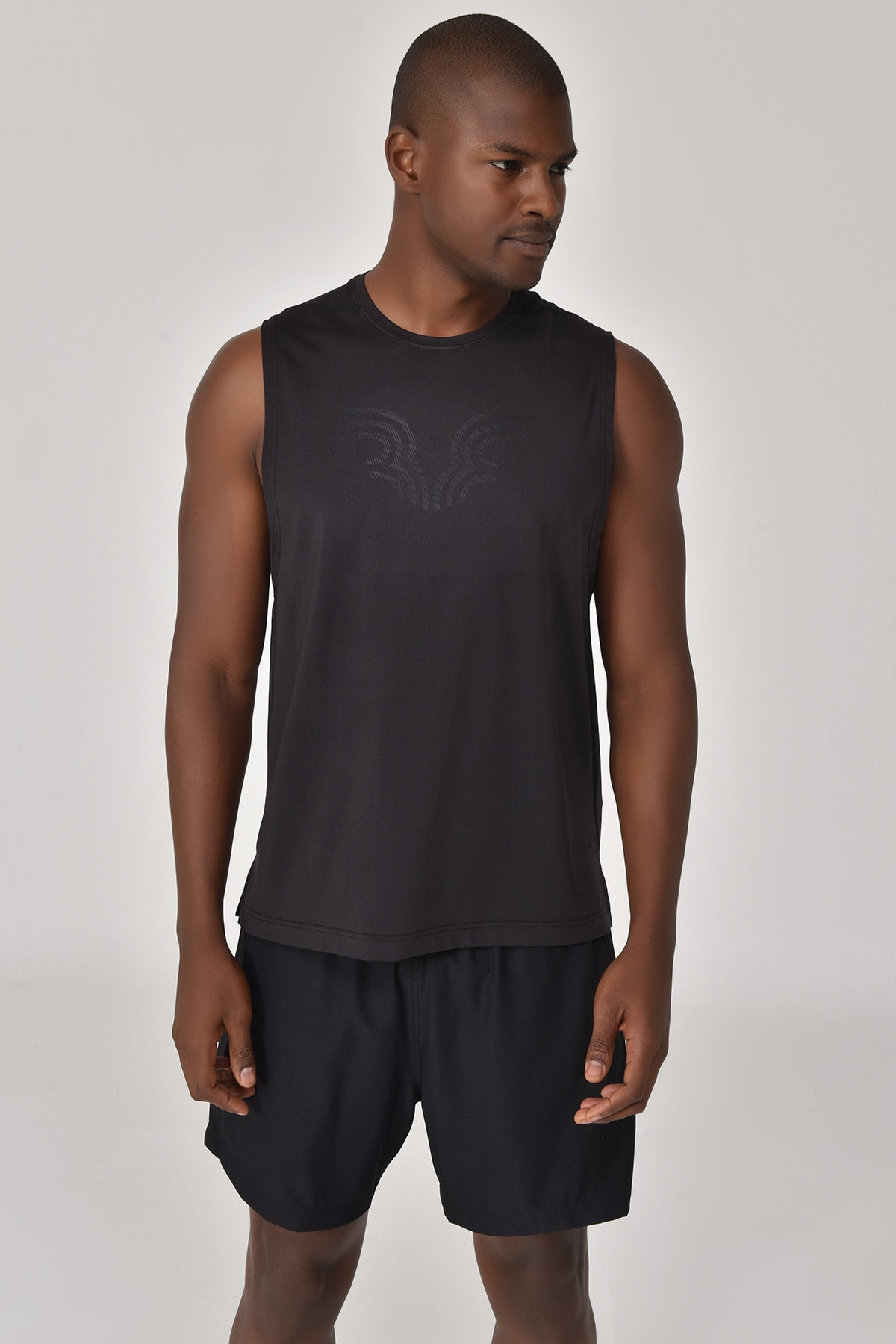 bilcee Siyah Erkek Atlet GS-8842 1