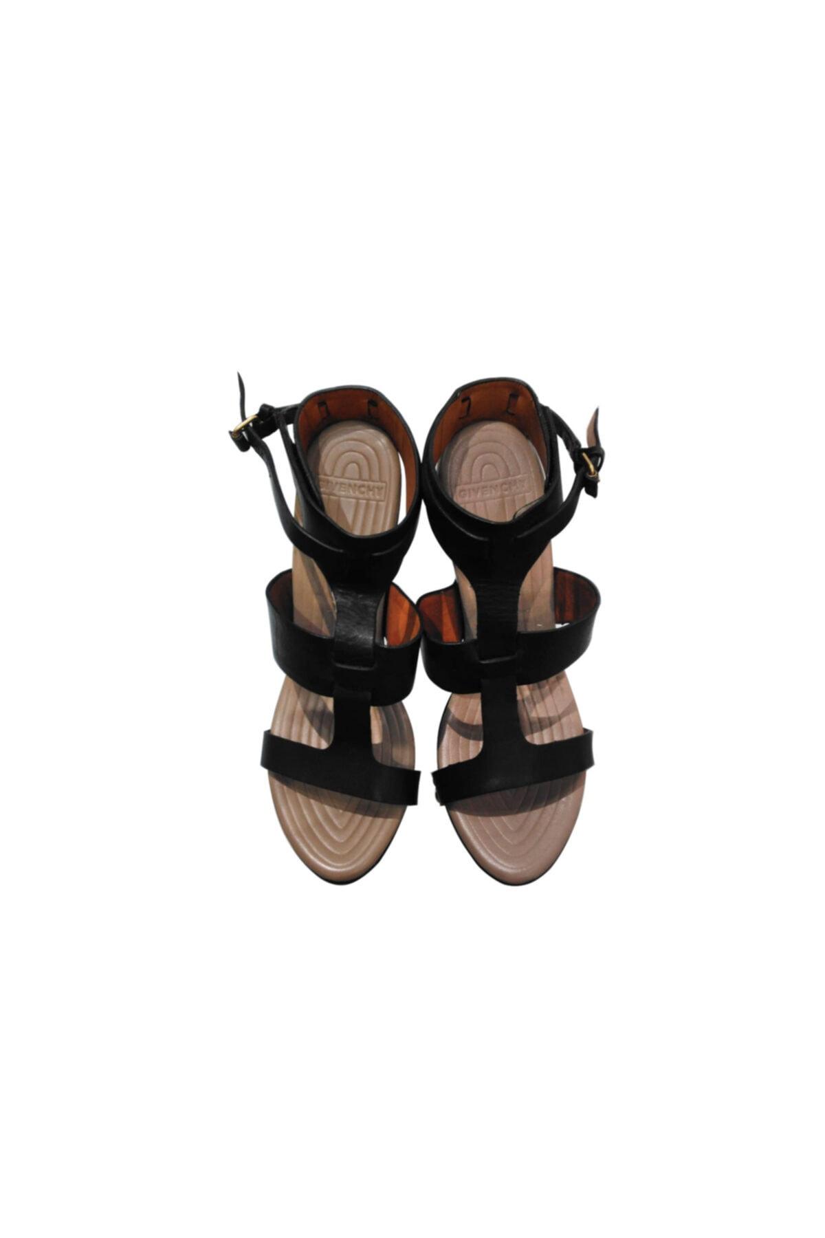 Givenchy Kadın Topuklu Sandalet Siyah 515822 2