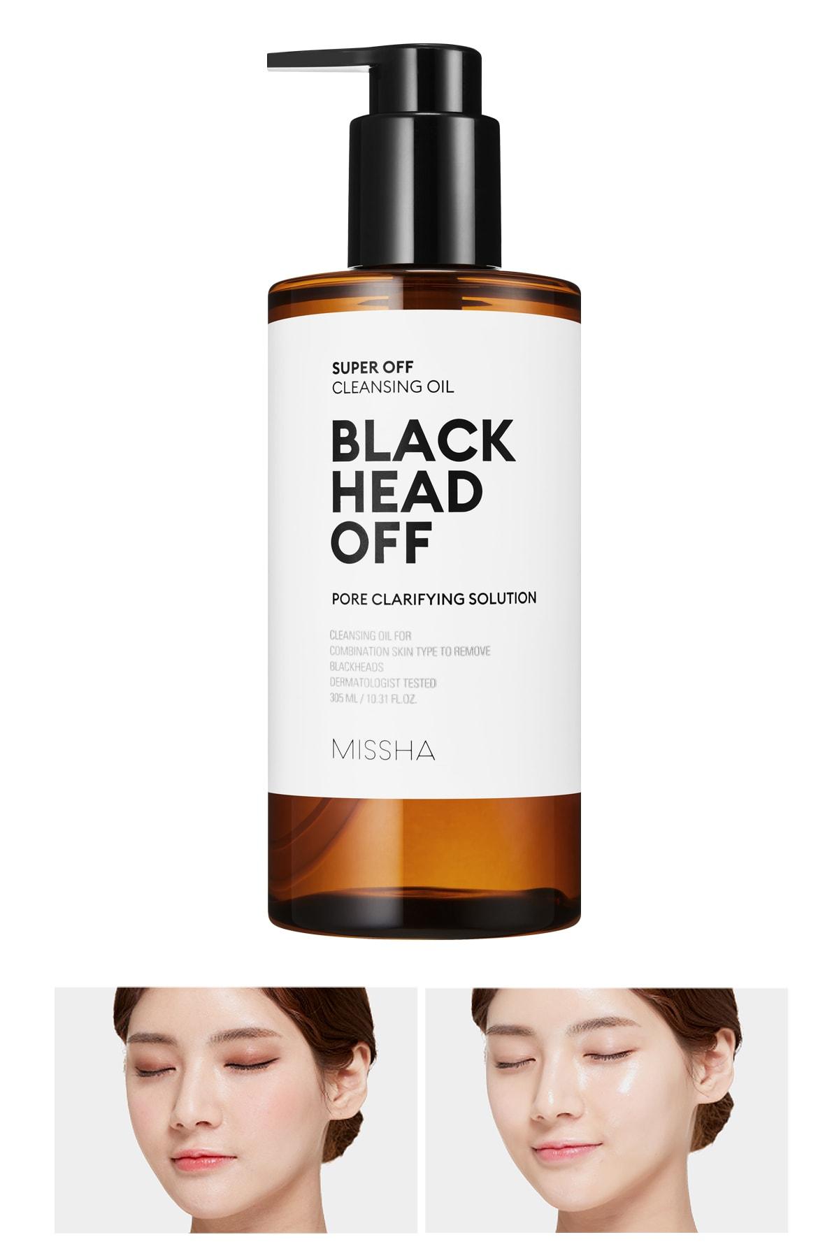 Missha Bakım Yapan Temizleyici Yağ - Super Off Cleansing Oil (Blackhead Off)