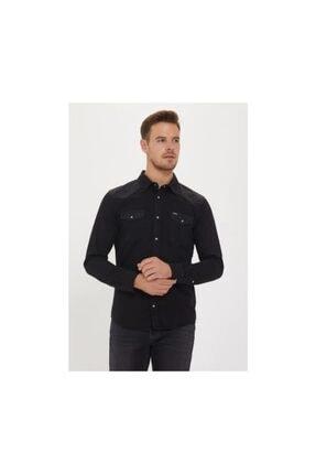 Lee Erkek Gömlek Wool Overshırt L67vveem