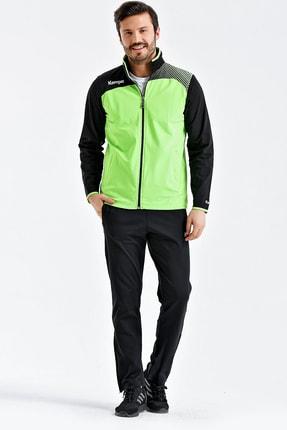 KEMPA Erkek Fosforlu Yeşil Dalgıç Kumaş Büyük Beden Eşofman Takımı