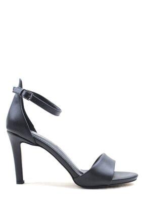 Buffalo Black Fashıon Topuklu Ayakkabı