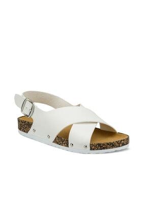 Polaris 315539.Z Beyaz Kadın Sandalet 100507947