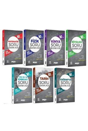 Ankara Yayıncılık 10.sınıf Tüm Dersler Soru Bankası Seti (7 Kitap)