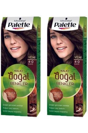 Palette Natural Colors 4-0 Amber Kahve 2 Adet