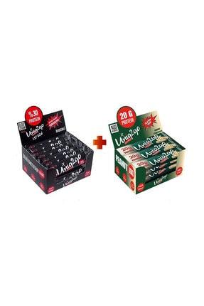 Uniq2Go Fıstık Ezmeli XXL Proteinli Bar 12li Kutu + Power almond bar 16'lı kutu (toplam 28 adet bar)