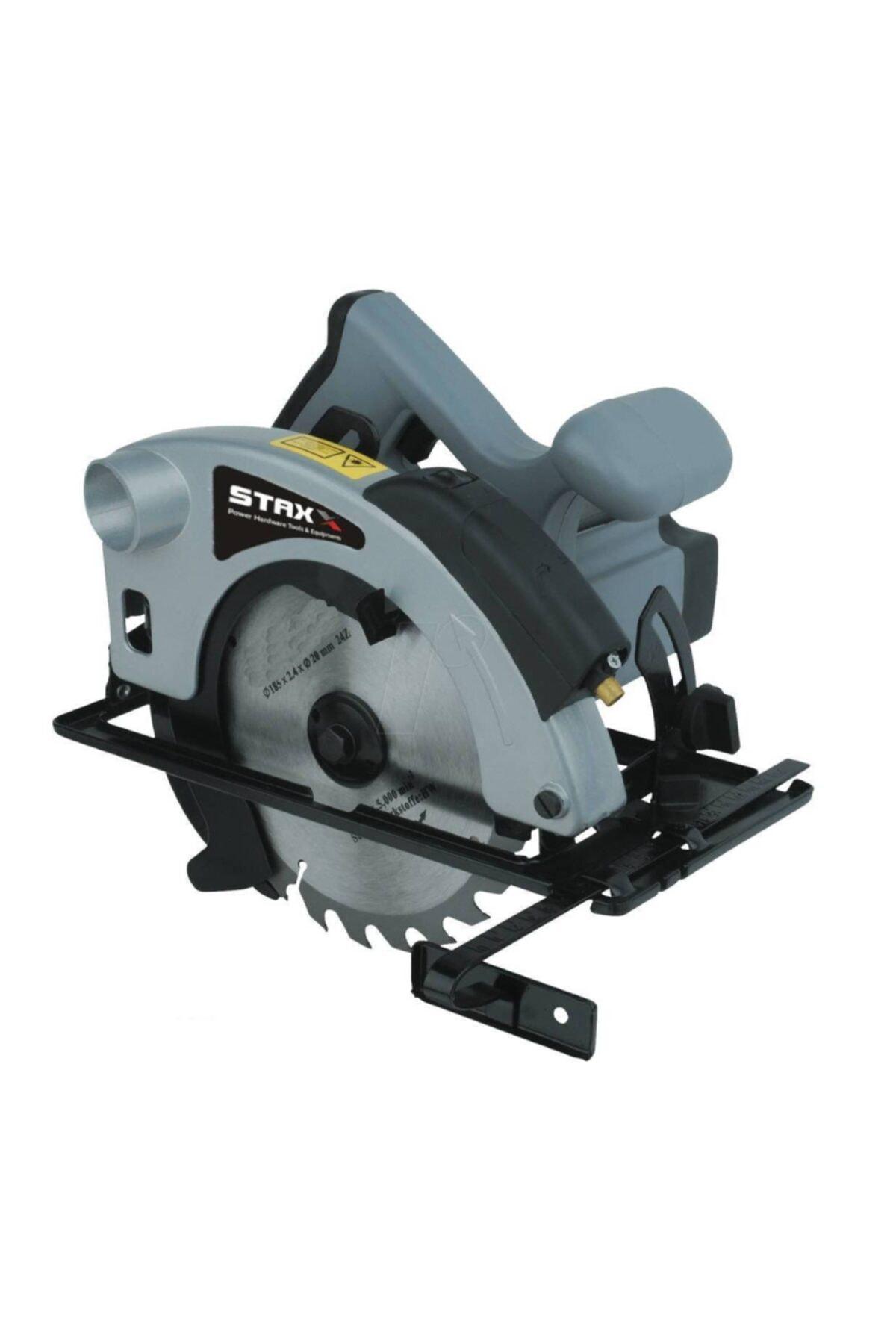 STAXX POWER Pro Speed Lazerli Daire Sunta Kesme Daire Testere Makinesi 1800w 45' Açılı Kesim Eldivenli 1