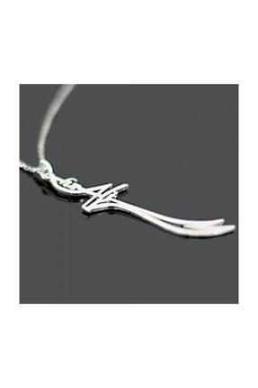 Takı Dükkanı Hz. Ali Zülfikar Kılıcı Kadın Gümüş Kolye 45cm Zincir wsn141