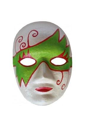 Oyun Terapi Market Karton Maske Boyama Etkinlik