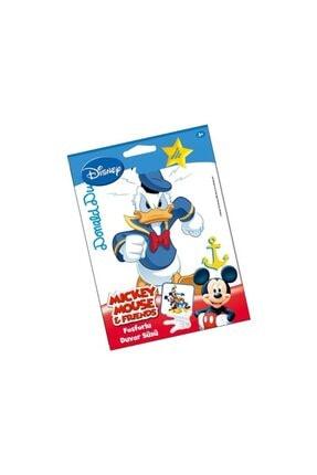 Artikel Fosforlu Duvar Sticker Donald Duck 19 cm