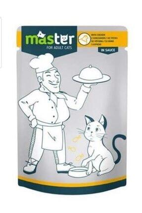 Master Tavuk Etli Pouch Yaş Kedi Maması 80 gr X 24 Adet