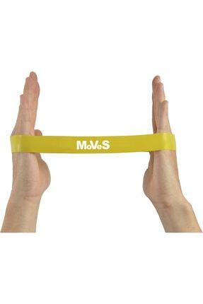 Moves 2,5x30 cm Kas Germe Güçlendirme Pilates Direnç Loop Band Seti 4 Adet