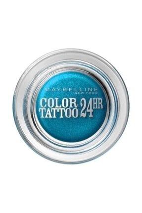 Maybelline New York Göz Farı - Color Tattoo 20 Turquoise Forever 3600530777563