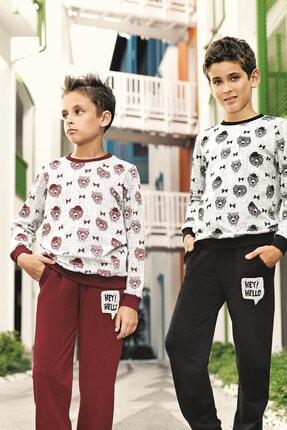 Lohusa Sepeti Erkek Çocuk Cool Pijama Takımı - 9-14 Yaş - 0001