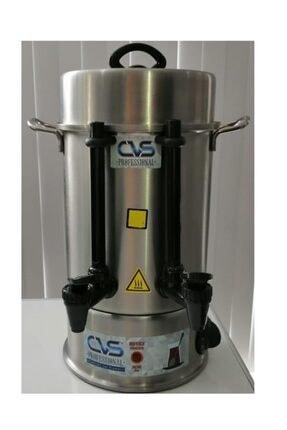 CVS 60 Bardak  Dn91106 Elektrikli Termostatlı 6 lt Paslanmaz Çelik Semaver Çay Otomatı Makinesi