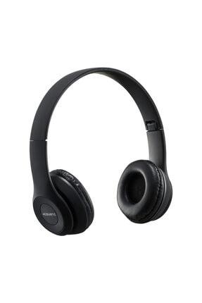 MF PRODUCT Acoustic 0131 Mikrofonlu Kulak Üstü Kablosuz Bluetooth Kulaklık Siyah
