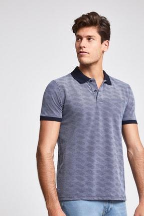 D'S Damat Lacivert Renk Erkek  T-shirt (Regular Fit)