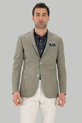 Twn Haki Renk Erkek  Ceket (Slim Fit)