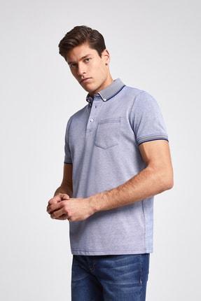 D'S Damat Mavi Renk Erkek  T-shirt (Regular Fit)