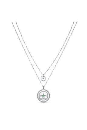 Swarovski Kolye Swa Symbol-necklace Mandala Czwh-rhs 5541987