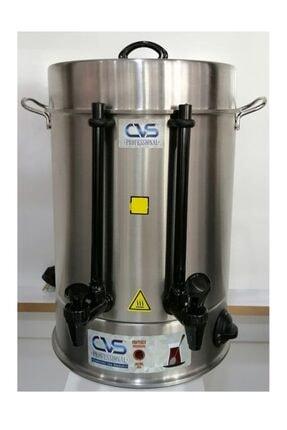 CVS Dn91109 . 160 Bardak Elektrikli Termostatlı Paslanmaz Çelik Semaver Çay Otomatı Makinesi