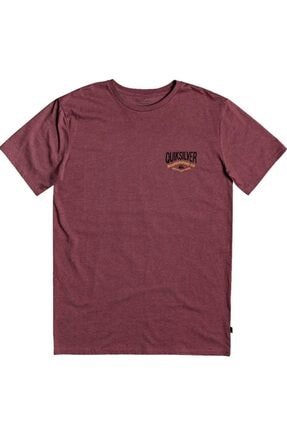 Quiksilver Bordo Cloud Cornerss M Tees Cphh Erkek T-shirt