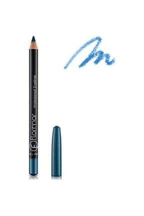 Flormar Mavi Eyeliner - Waterproof Eyeliner 114 Blue Sky