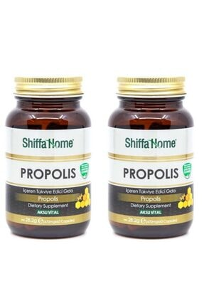 Shiffa Home Propolis Kapsül 470 Mg 60 Adet X 2 Adet