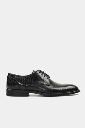 Hotiç Hakiki Deri Siyah Erkek Klasik Ayakkabı