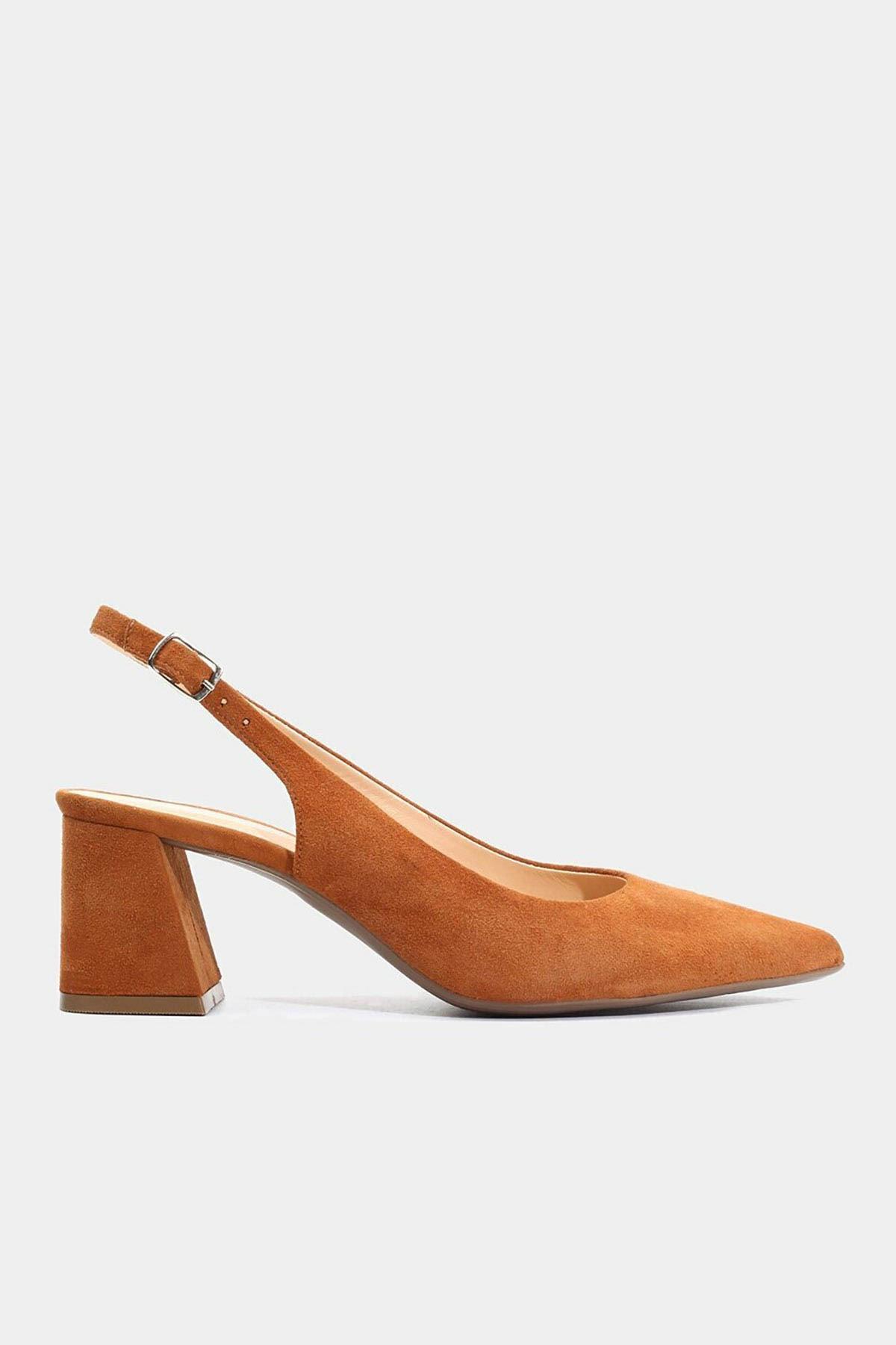 Hotiç Hakiki Deri Taba Kadın Stiletto 1