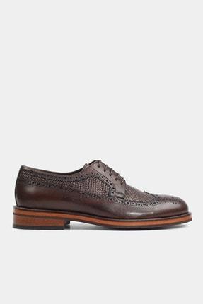 Hotiç HAKİKİ DERİ Kahve Erkek Klasik Ayakkabı